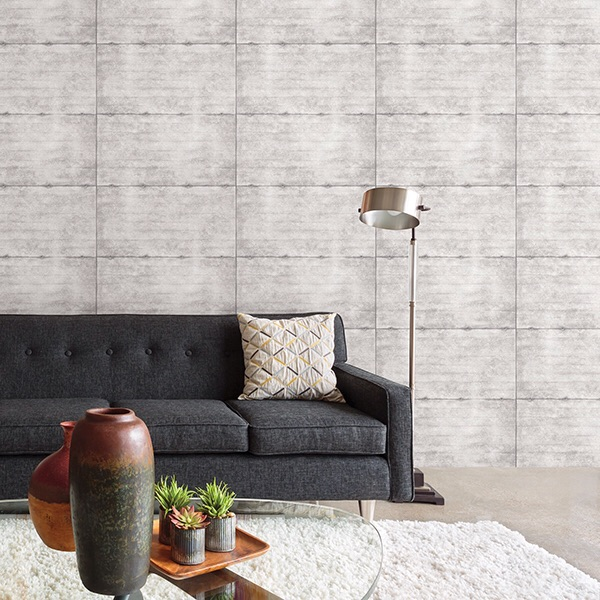 SMOOTH CONCRETE LIGHT GREY GEOMETRIC