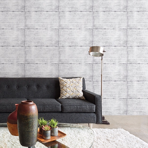 SMOOTH CONCRETE GREY GEOMETRIC