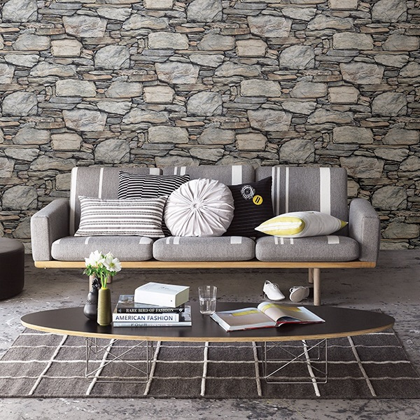 STONE WALL GREY HISTORIC