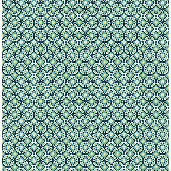 AUDRA BLUE FLORAL