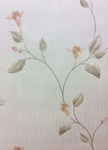 TUSCANY FLORAL PEACH/IVORY