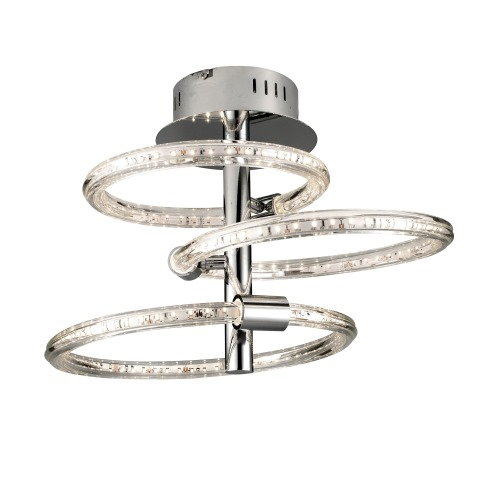 NOLTE LED CHROME CEILING LIGHT