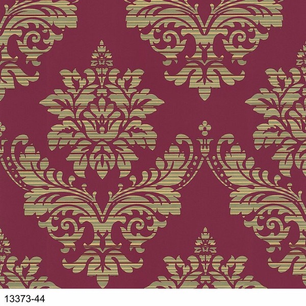 GLAMOUR DAMASK RED
