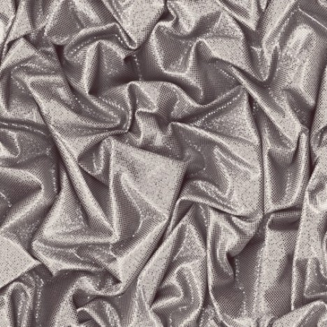 CRUSHED SATIN SILVER