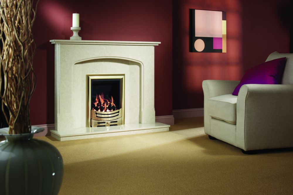 OCTAVIA MANILA  MICRO MARBLE SURROUND WITH LIGHTS