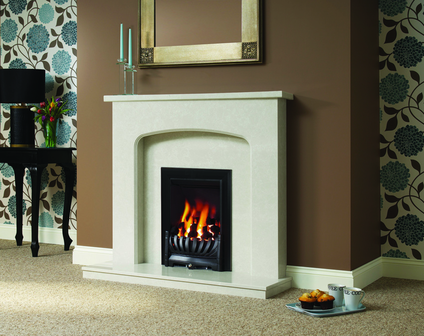 TASMIN MARFIL MICRO MARBLE SURROUND 75MM