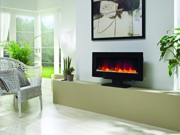AMARI 2KW FREE STANDING ELECTRIC FIRE 38""