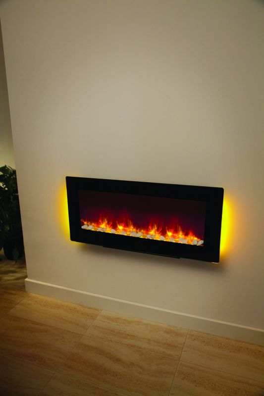 AMARI 2KW WALL MOUNTED ELECTRIC FIRE 38""