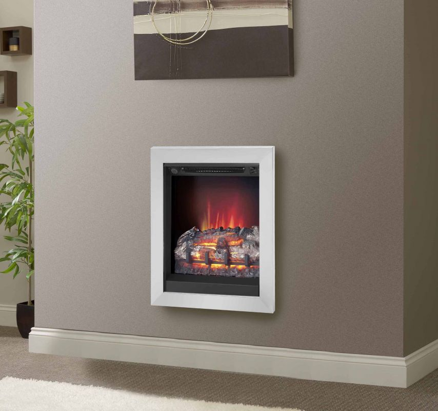 """ATHENA 2KW INSET ELECTRIC WALL FIRE 18"""""""