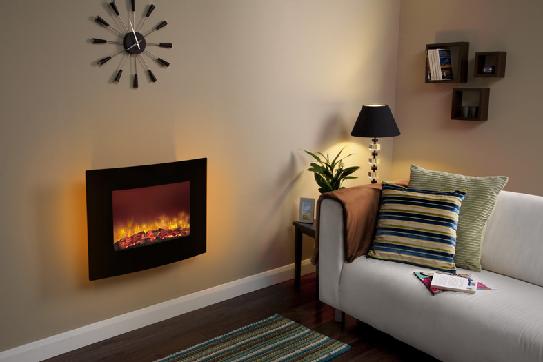 QUATTRO 2KW WALL MOUNTED ELECTRIC FIRE