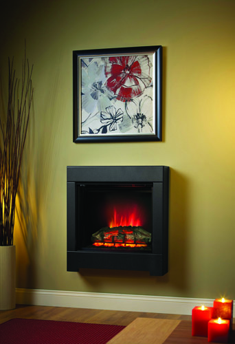 SERENA ECO 2KW WALL MOUNTED ELECTRIC FIRE FEATURES 28""