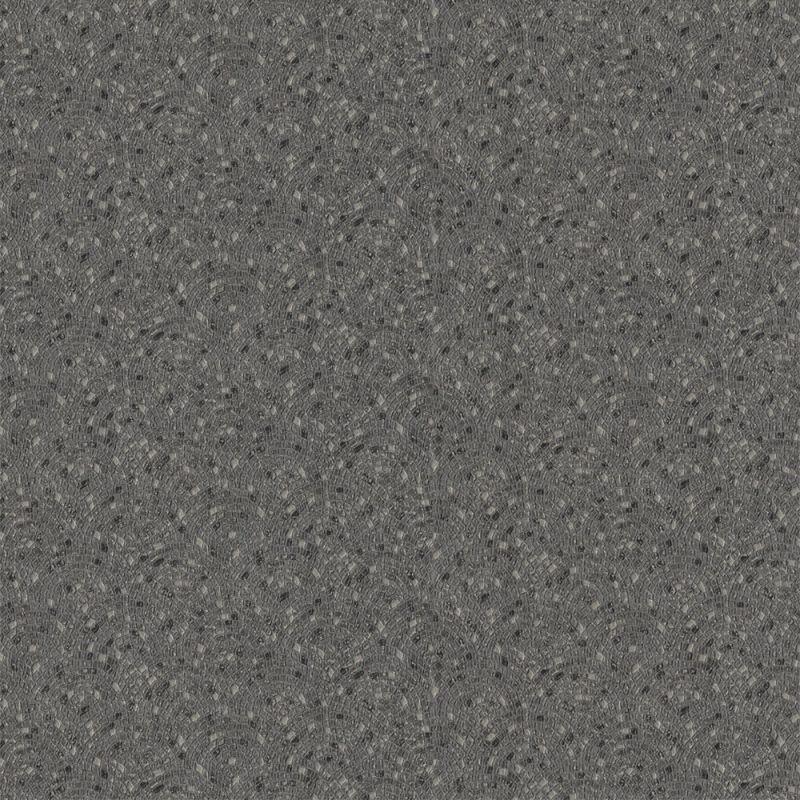 BERKELEY ONYX BLACK MOSAIC WALLPAPER