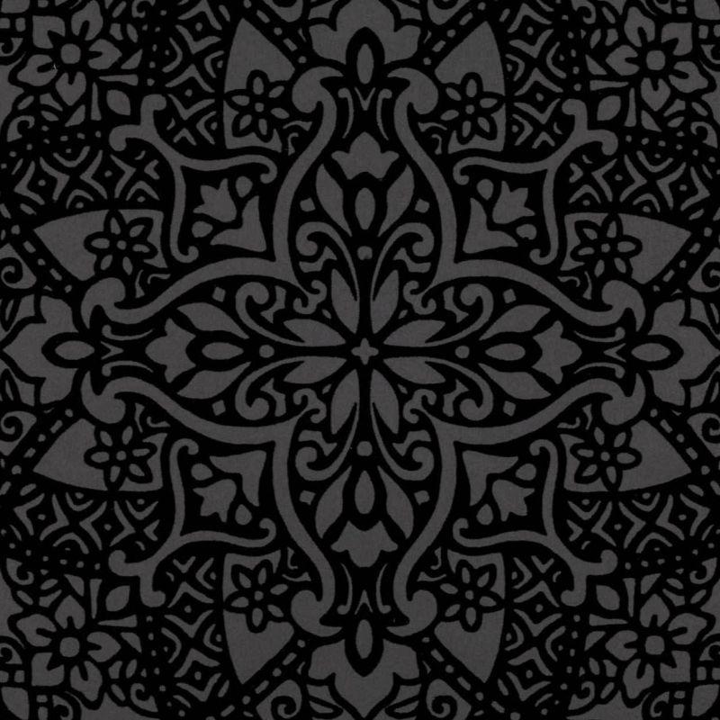 BYZANTINE FLOCK BLACK