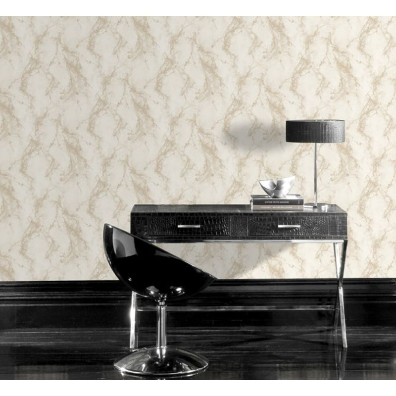 MARBLE PATTERN WALLPAPER FAUX EFFECT MODERN METALLIC GLITTER MOTIF