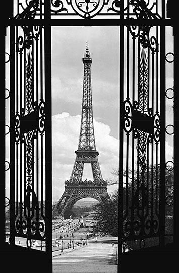 LA TOUR EIFFEL, 1909