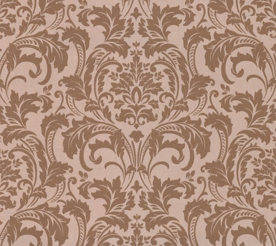 KRETSCHMER DELUXE WALLPAPER DAMASK GLASS BEAD