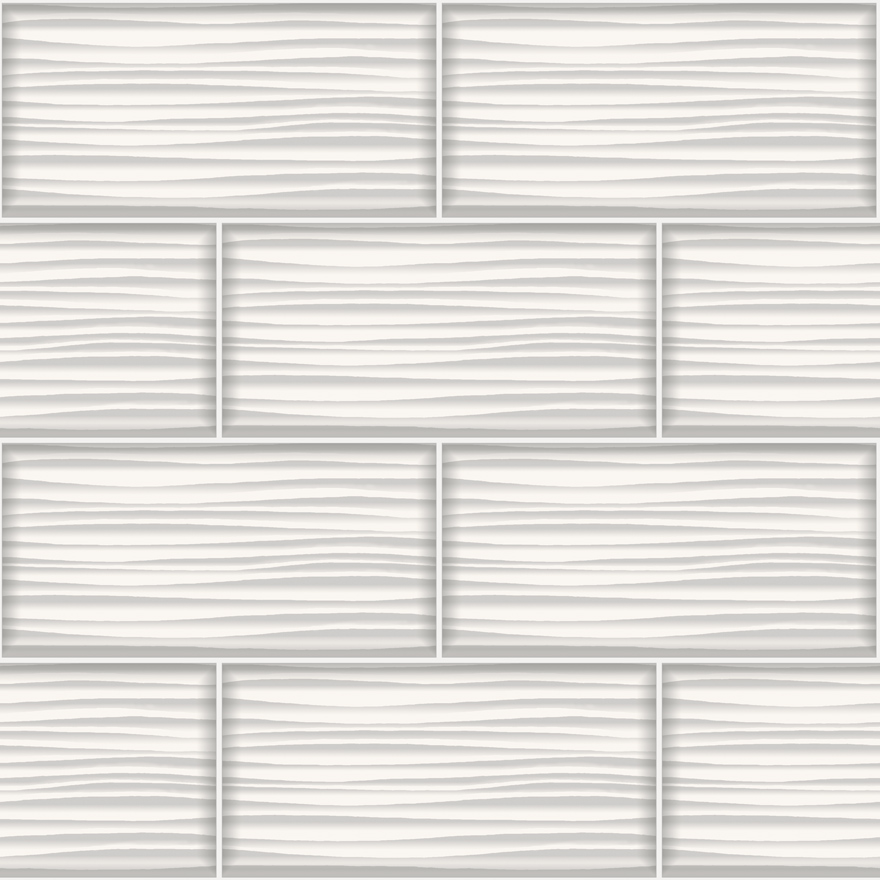 WAVE TILE WHITE