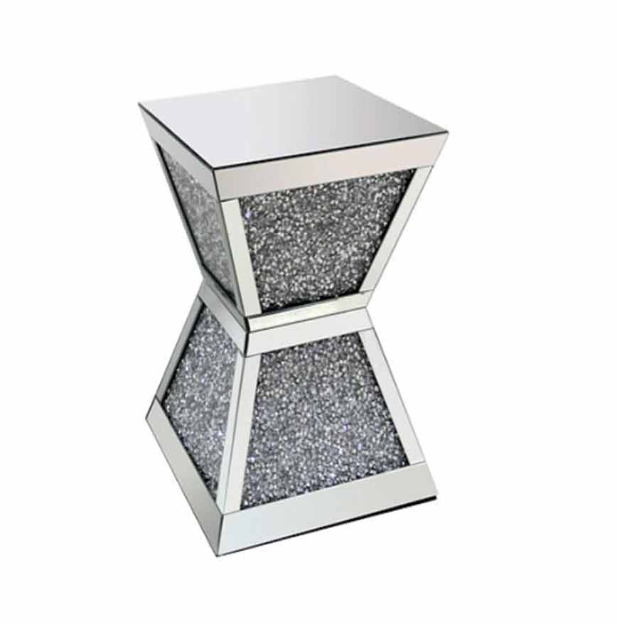 CRUSHED DIAMOND LAMP TABLE