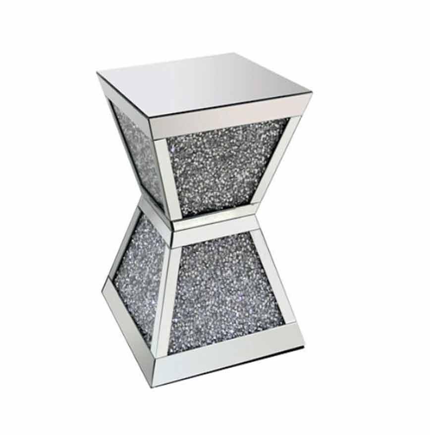 CRUSHED DIAMOND LAMP TABLE