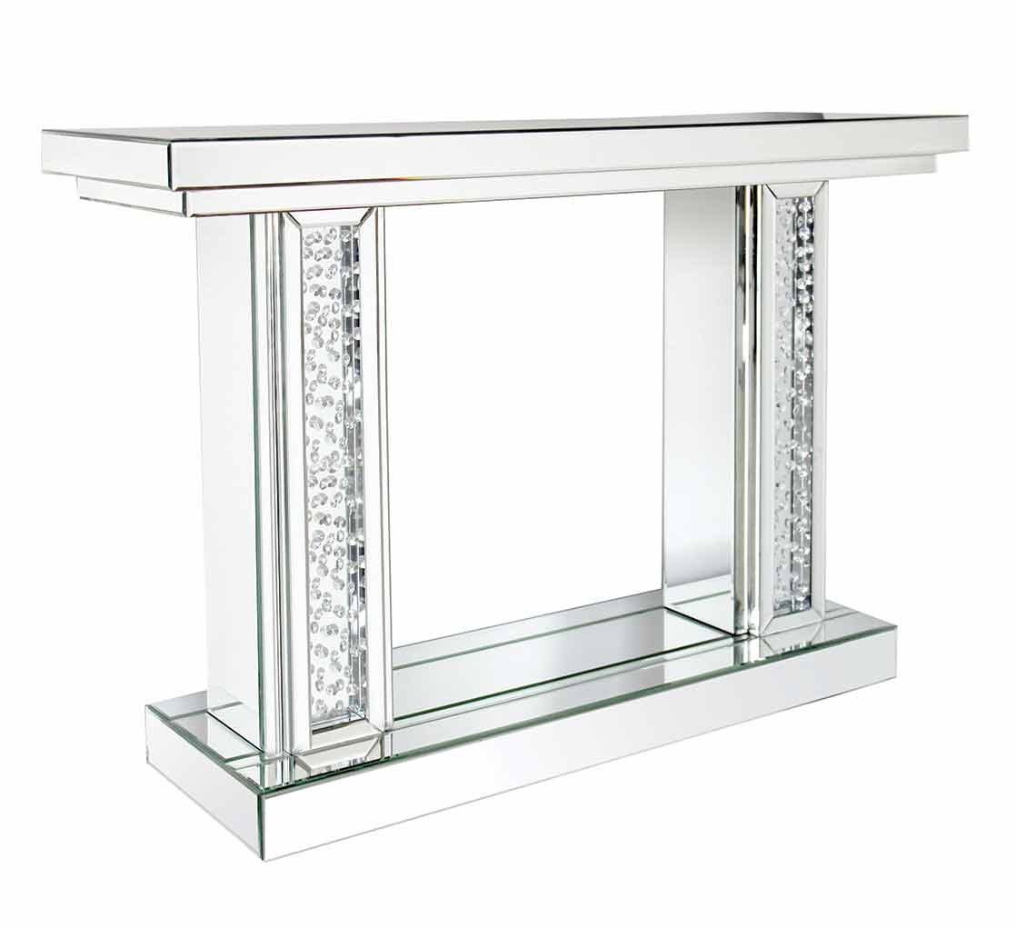 FLOATING PILLAR CONSOLE TABLE