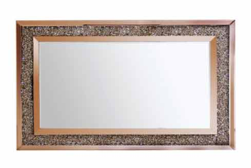 ROSE GOLD WALL MIRROR