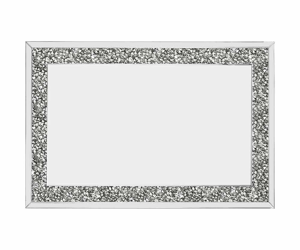 CRUSHED DIAMOND WALL MIRROR