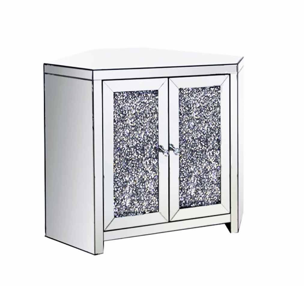 CRUSHED DIAMOND CORNER TV UNIT