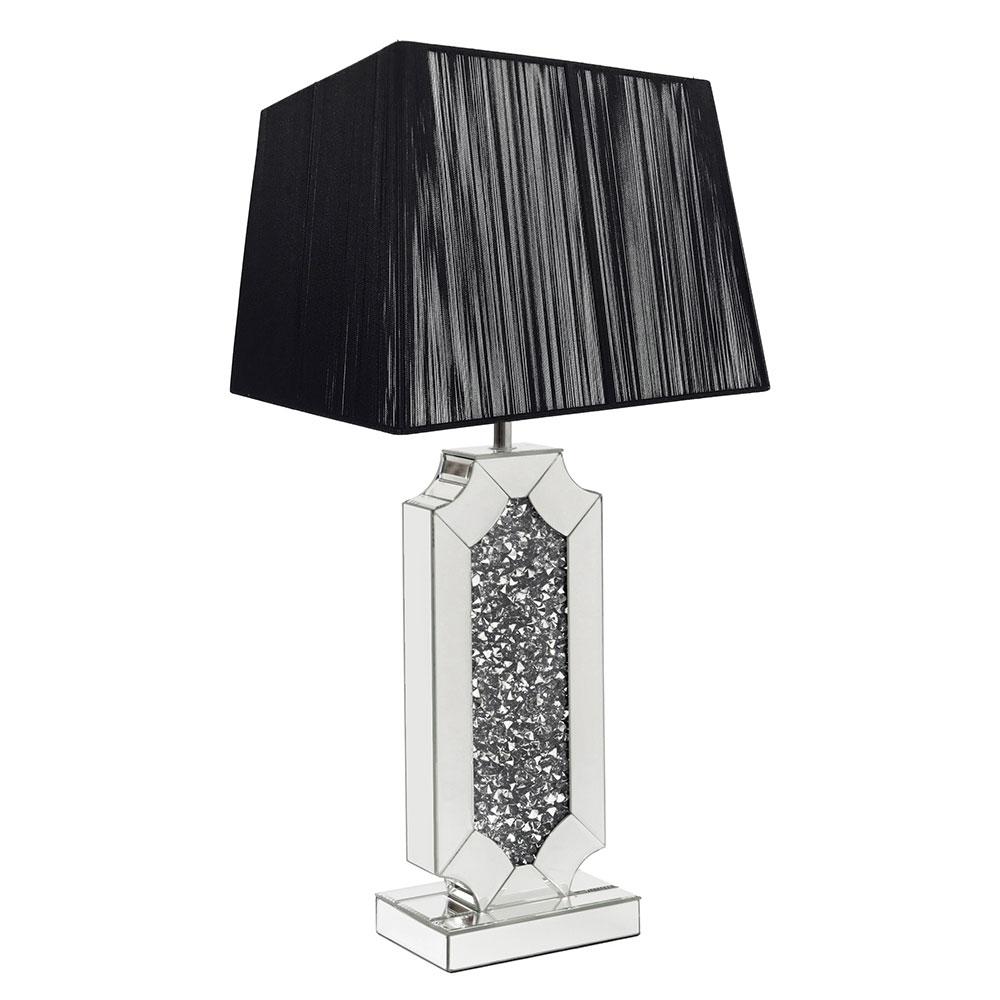 CRUSHED DIAMOND TABLE LAMP