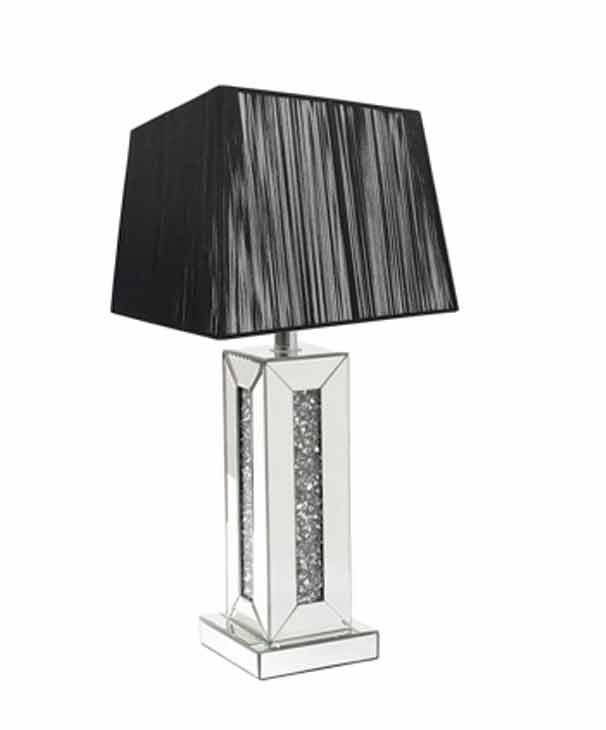 CRUSHED DIAMOND SQUARE LAMP