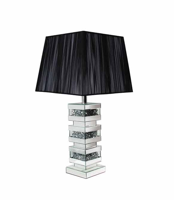 CRUSHED DIAMOND 3 LAYER LAMP