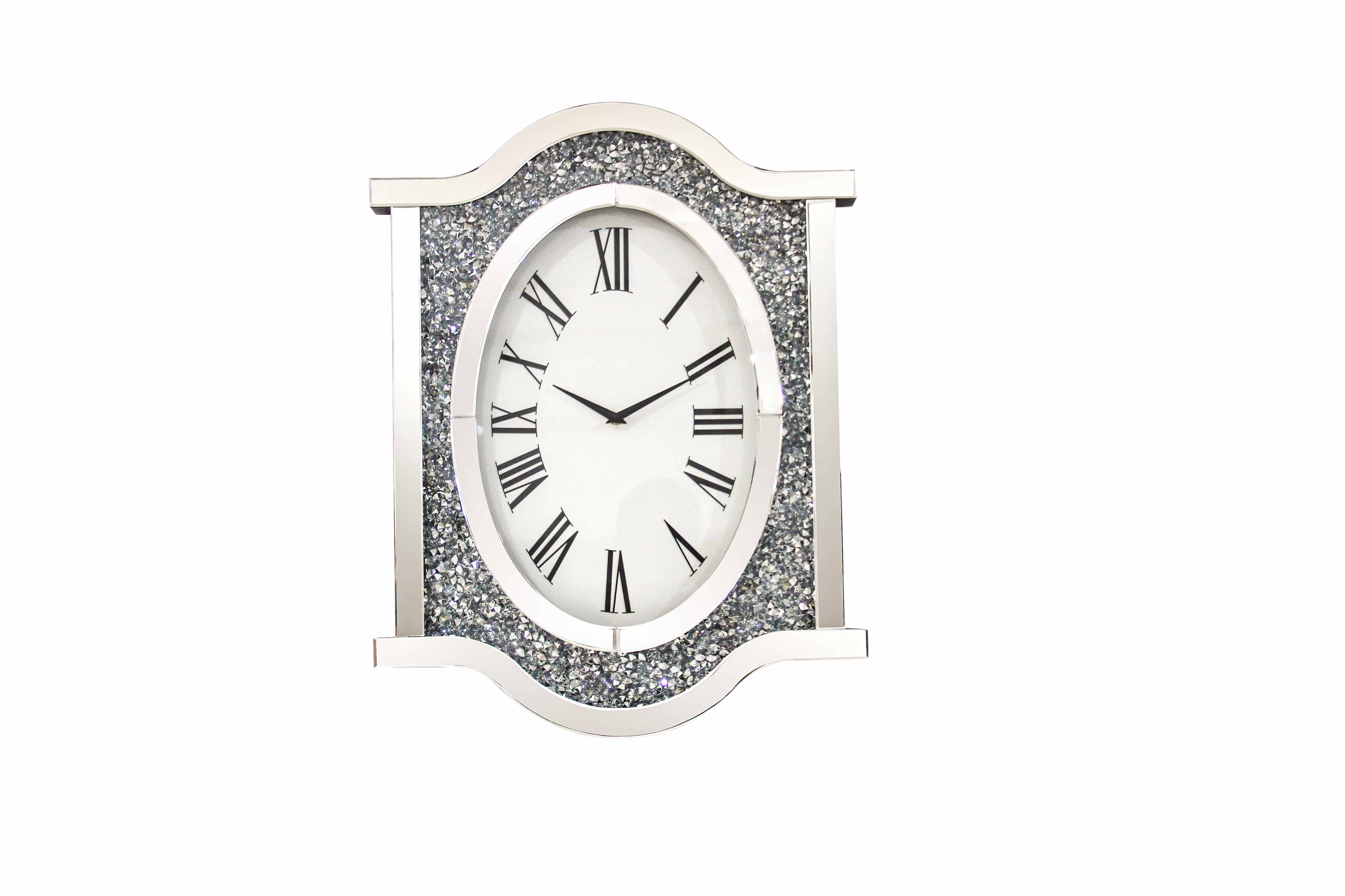 CRUSHED DIAMOND WALL CLOCK