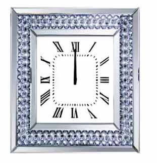 BARCELONA CRYSTAL WALL CLOCK