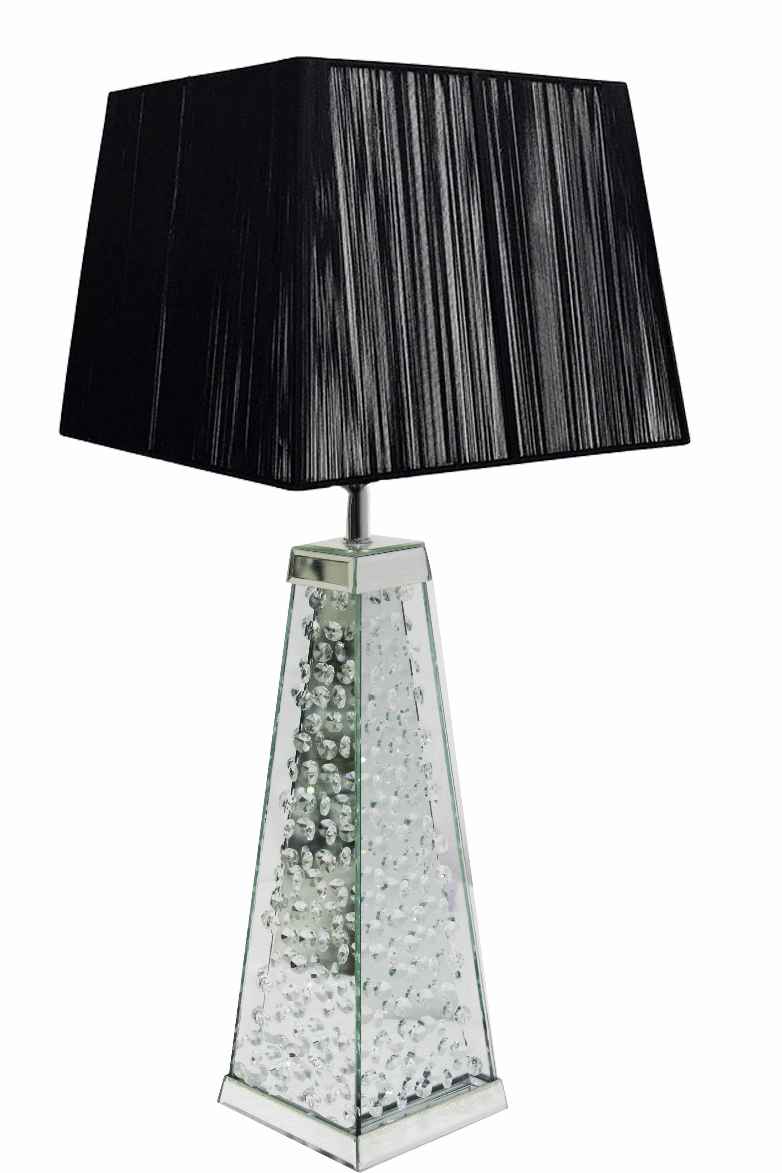 FLAOTING DIAMOND TABLE LAMP