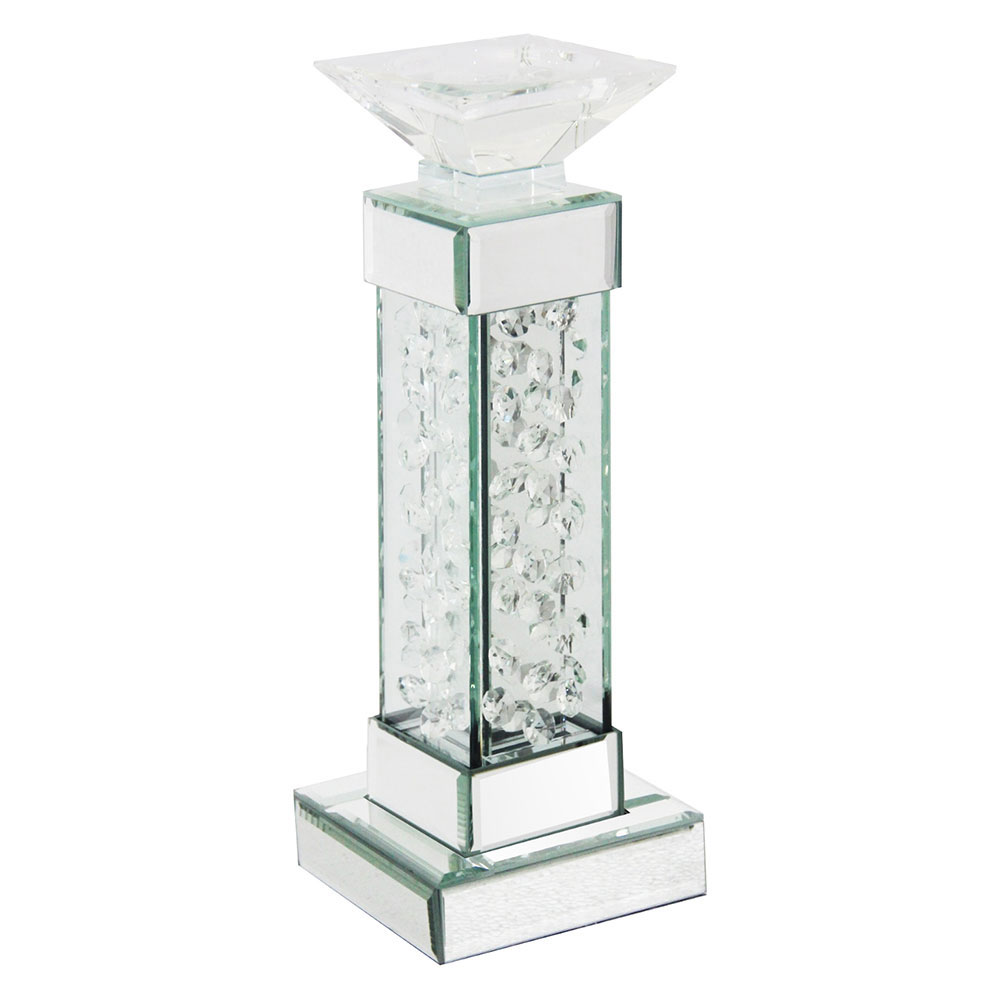 FLOATING CRYSTAL SMALL CANDLE HOLDER