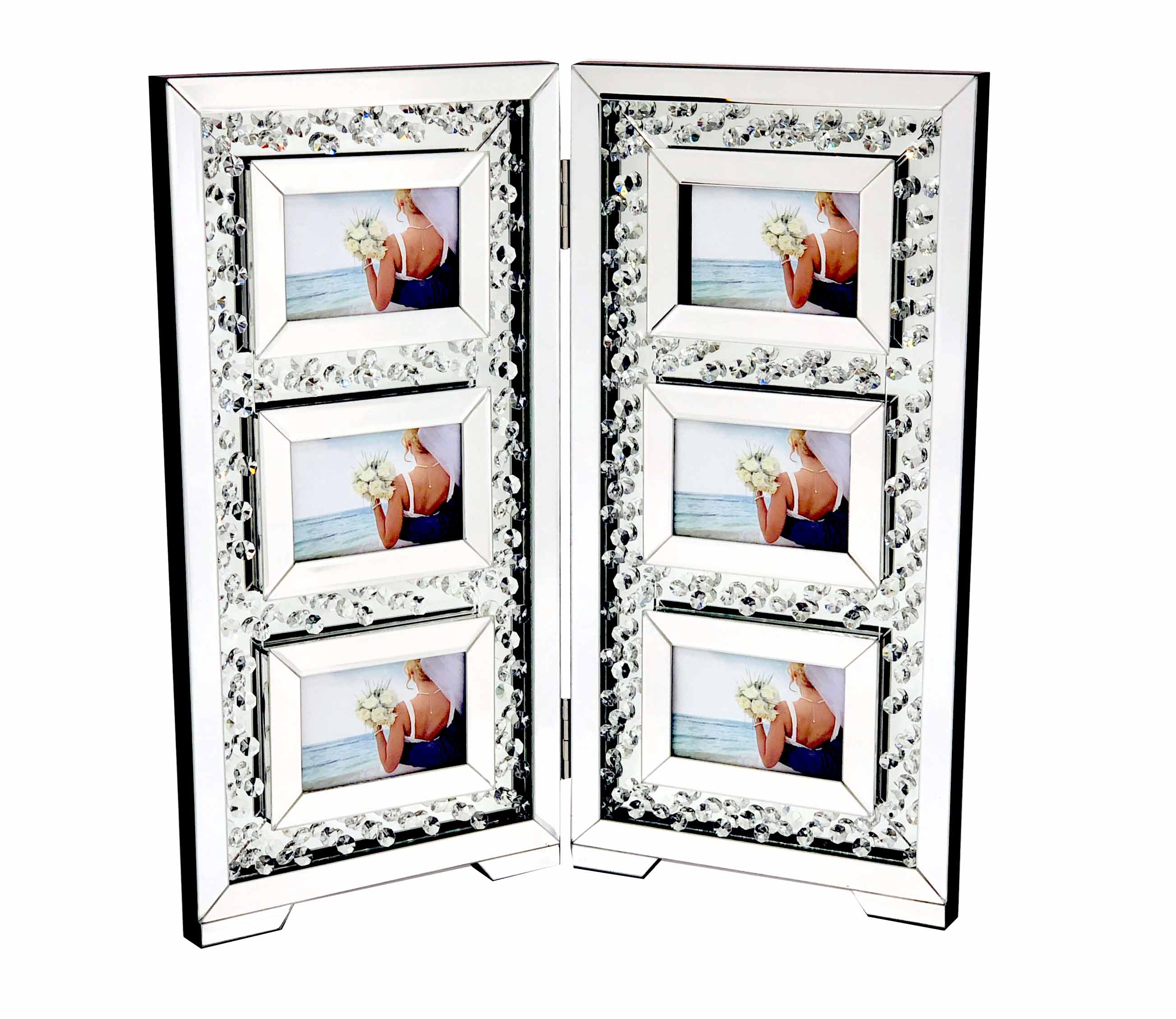 FLOATING CRYSTAL PHOTO FRAME 6S