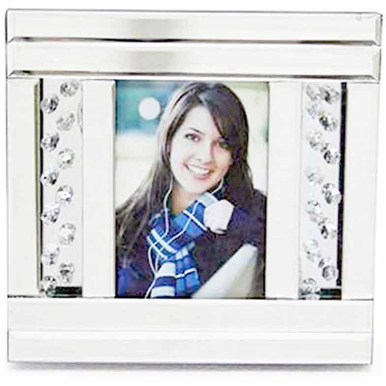 FLOATING CRYSTAL PHOTO FRAME