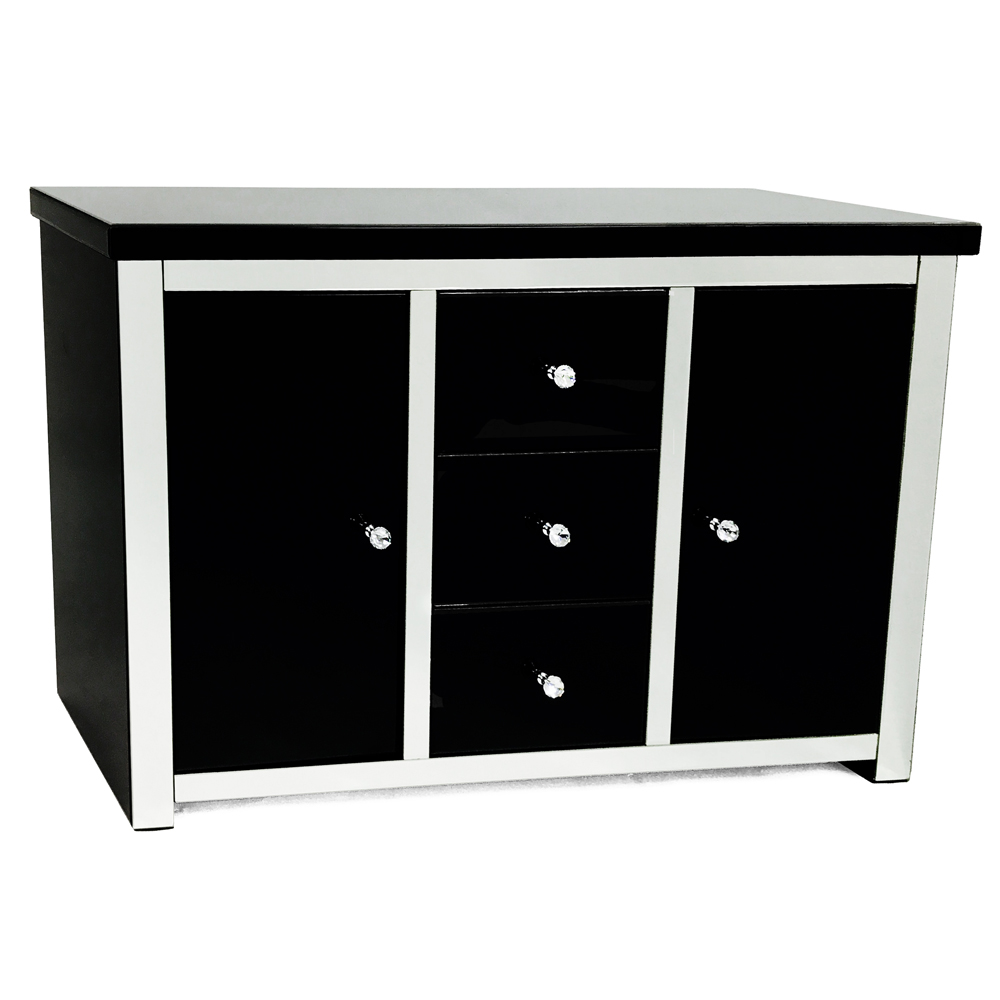 LONDON BLACK SIDEBOARD