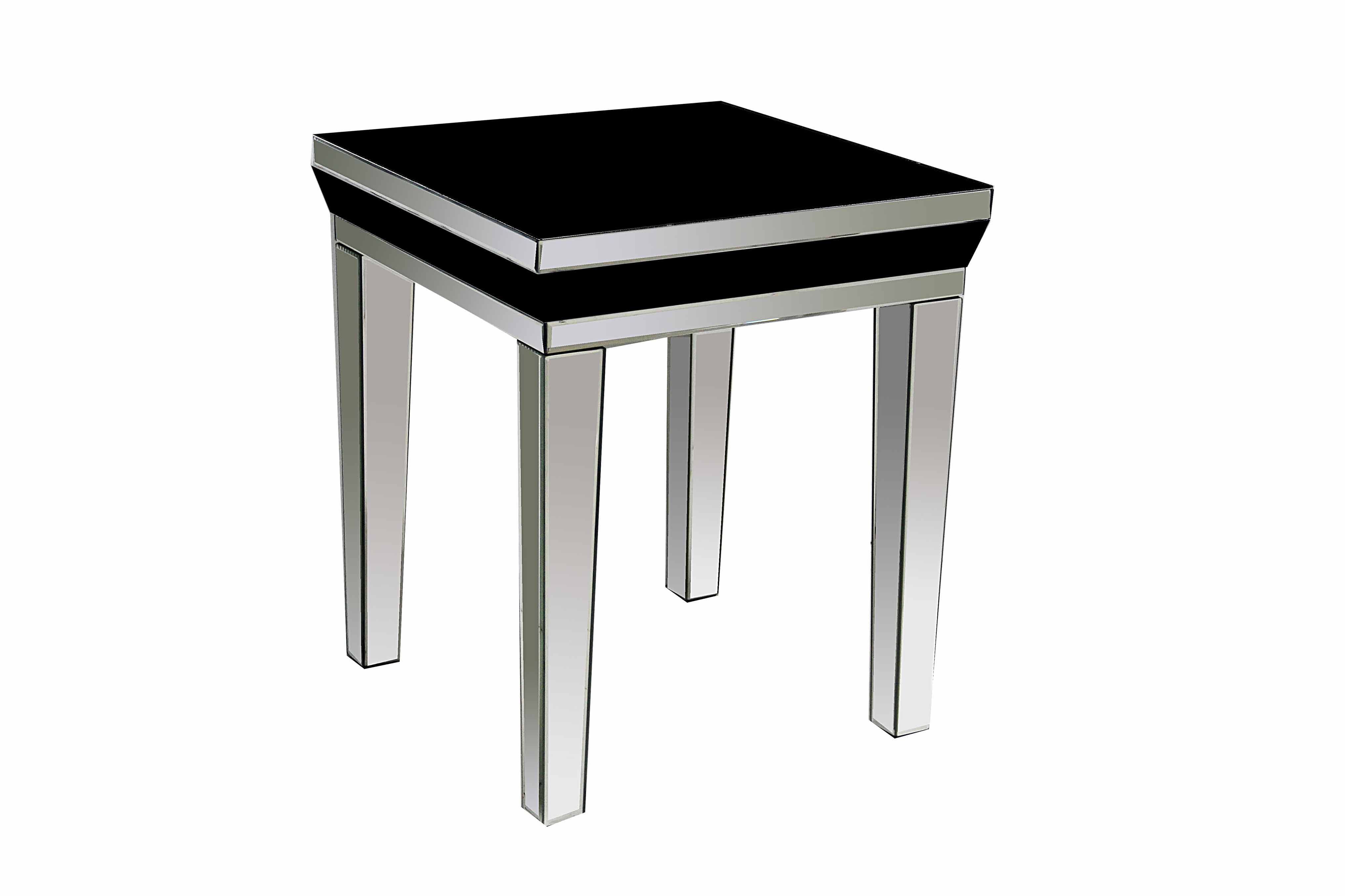 LONDON BLACK LAMP TABLE