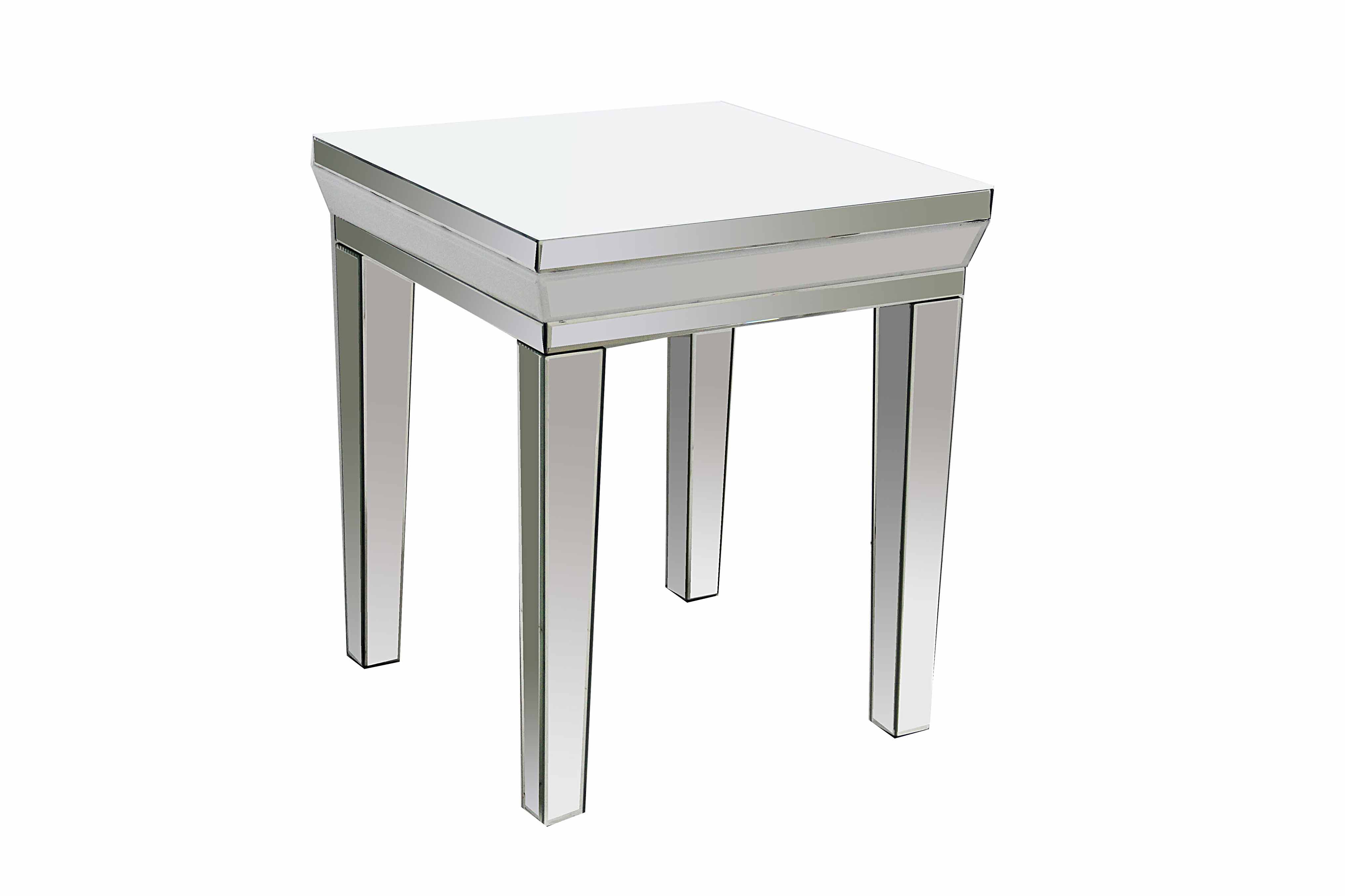 LONDON WHITE LAMP TABLE