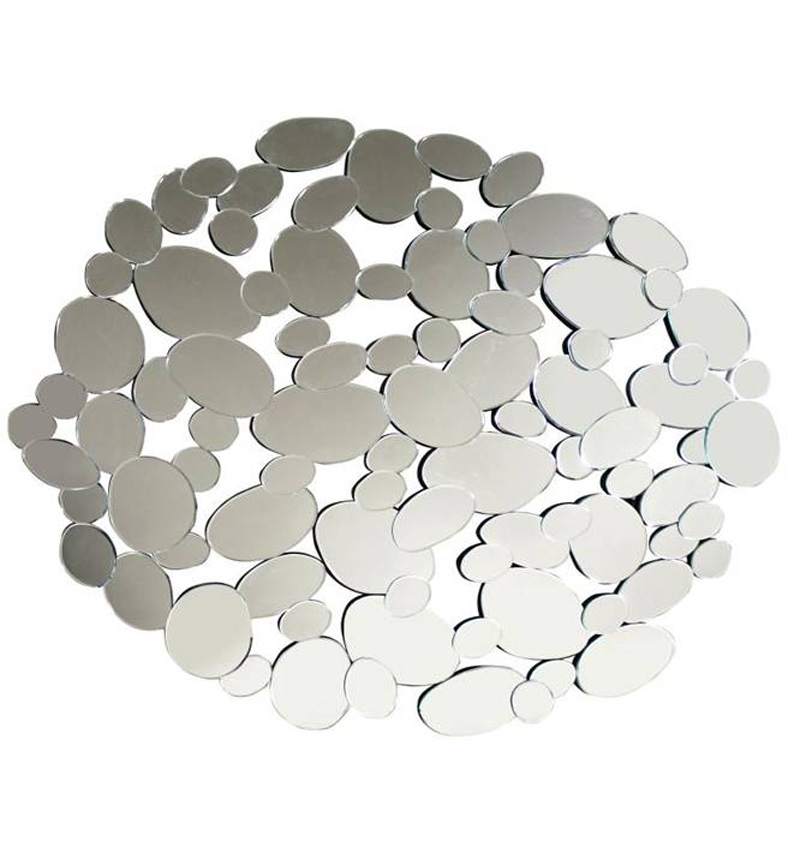 ROUND PEBBLE MIRROR