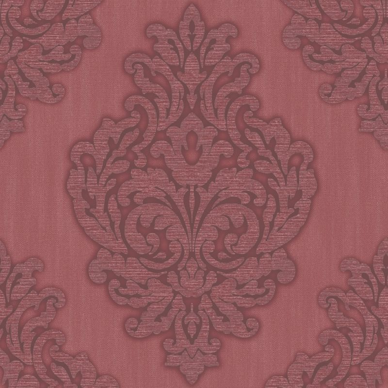 GRANDEUR DAMASK RED