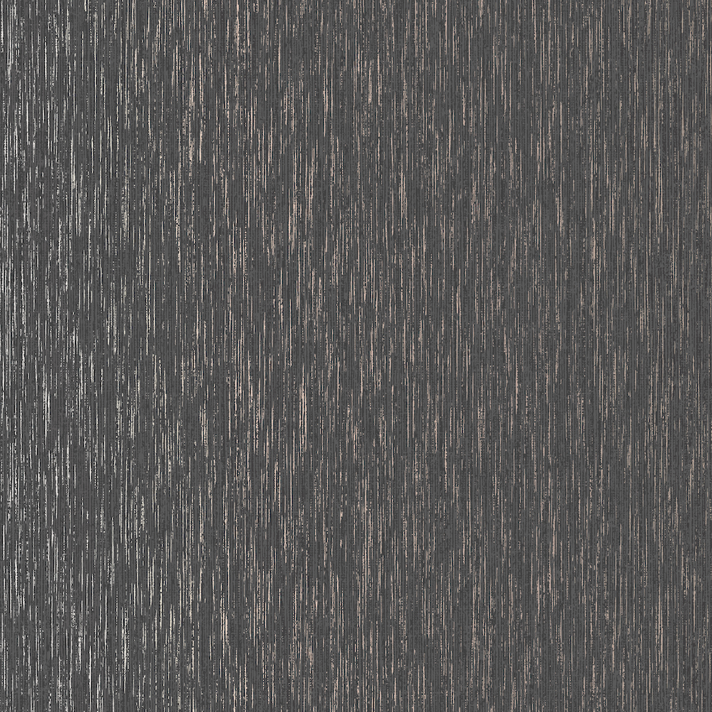 SUPERFRESCO VITTORIO PLAIN CHARCOAL ROSE GOLD WALLPAPER