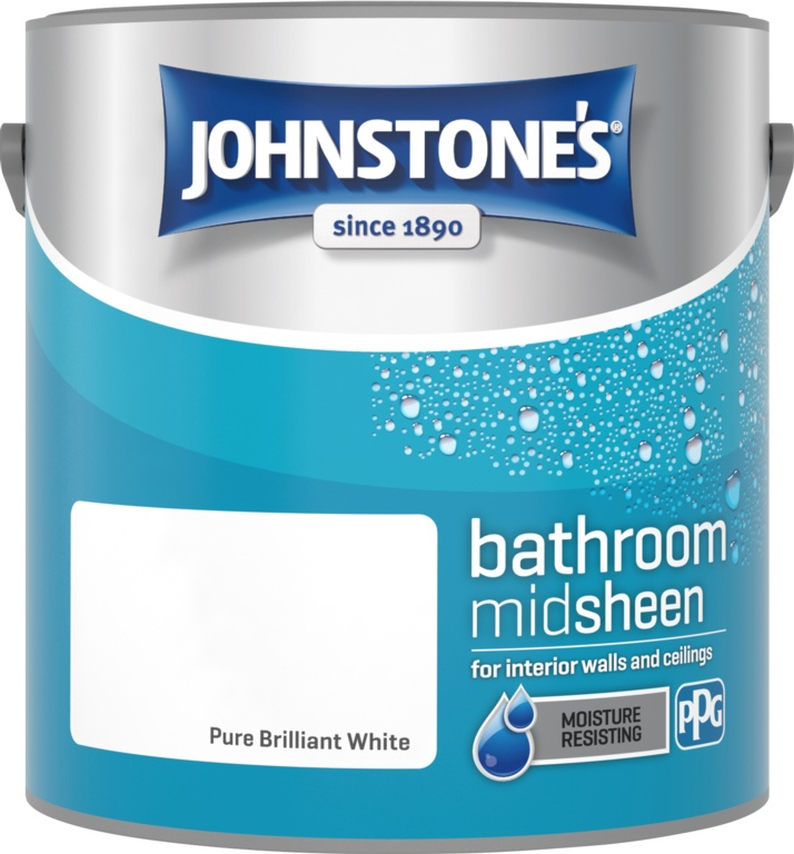 PURE BRILLIANT WHITE KITCHEN/BATHROOM