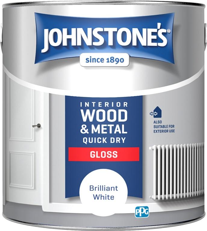 JOHNSTONE QUICK DRY GLOSS 2.5L