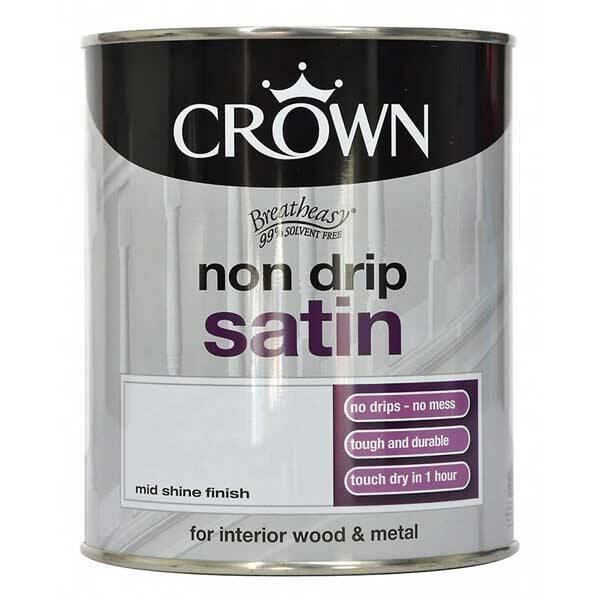 CROWN NON DRIP SATIN