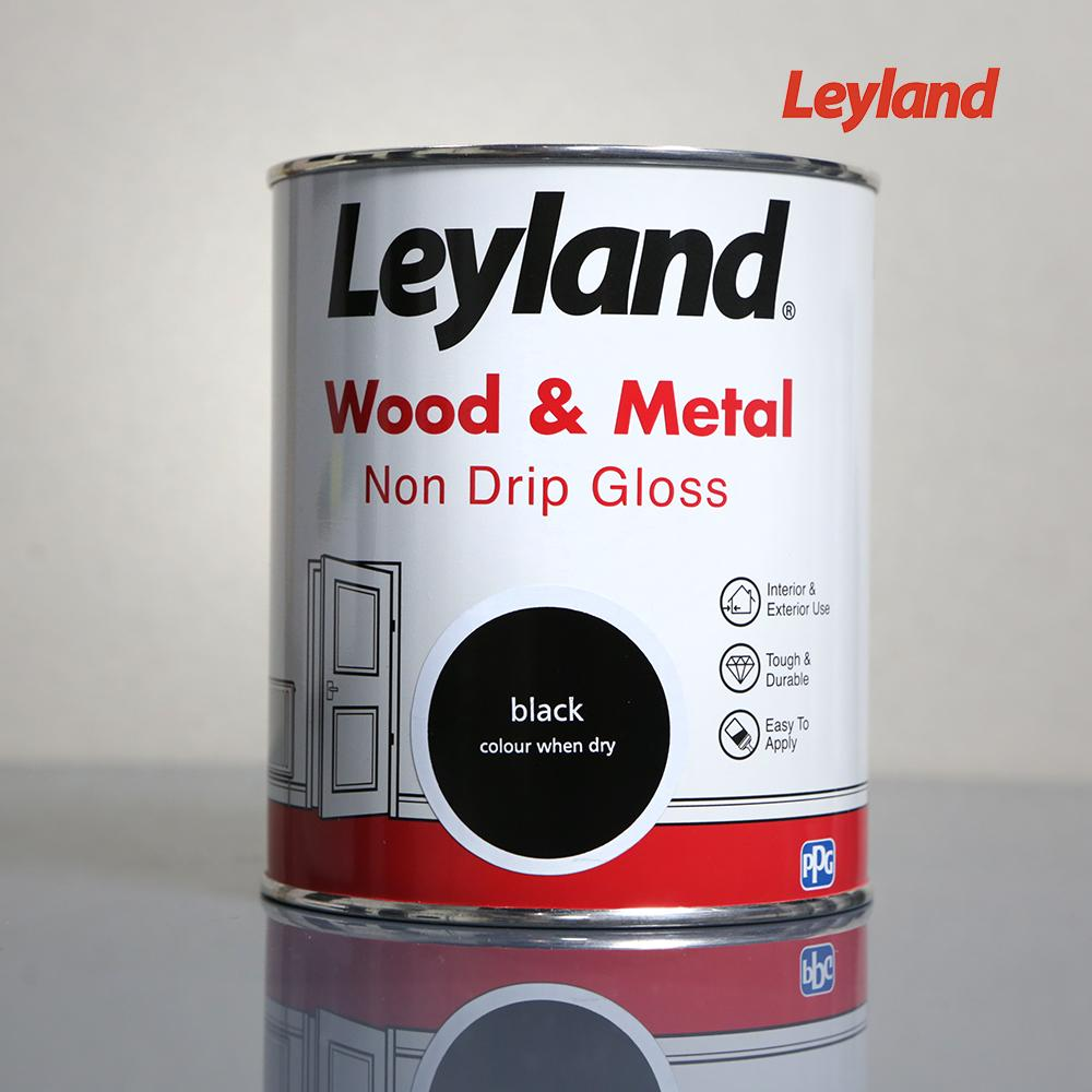 LEYLAND BLACK GLOSS