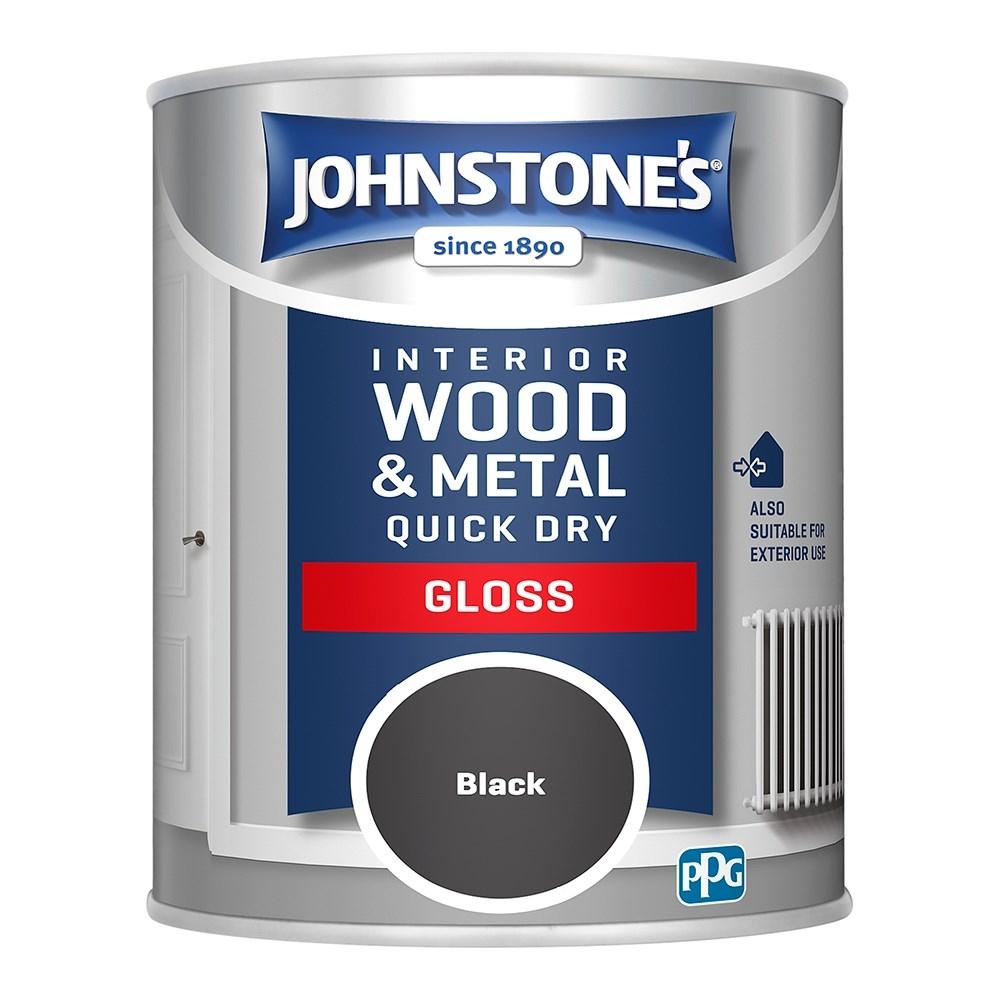 BLACK GLOSS 750ML