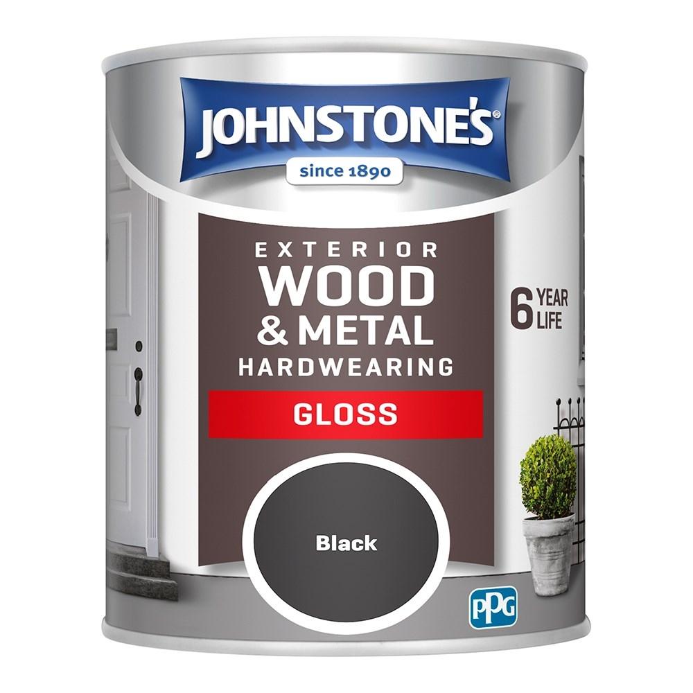 BLACK EXTERIOR GLOSS 750ML