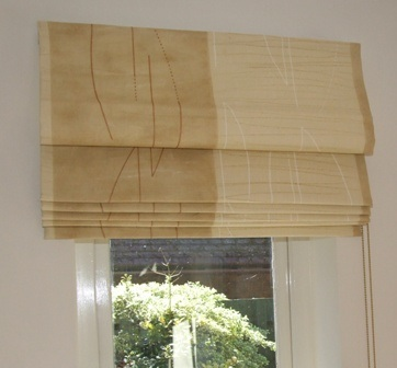 MADE TO MEASURE ROMAN  BLINDS FROM