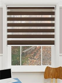 MADE TO MEASURE DUO ROLLER BLINDS FROM
